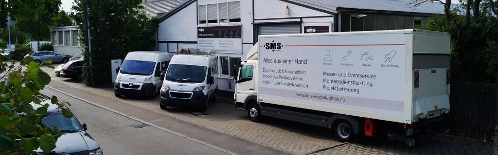 Herstellung und Montage von Werbung in Stuttgart und ganz Deutschland