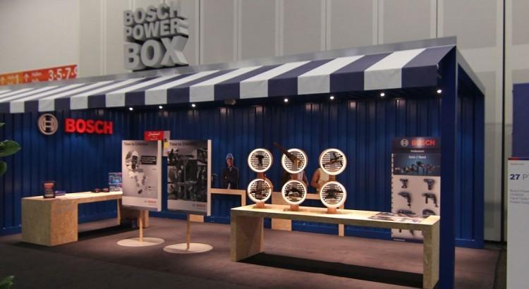 Herstellung und Montage eines Messestandes für Bosch Powertools