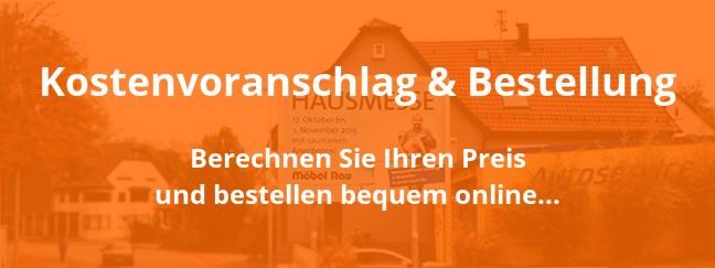 Werbelifter: Kostenvoranschlag für Bannerrahmen und Online-Bestellung