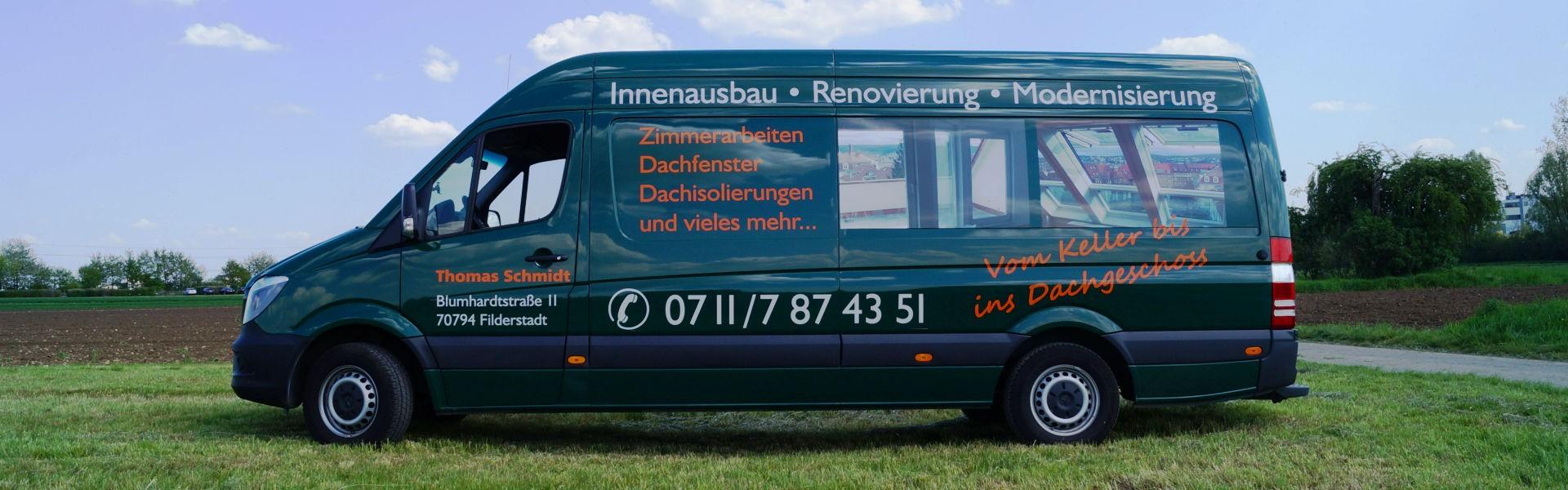 Fahrzeugbeschriftung Stuttgart: Werbung auf Fahrzeugen aller Art