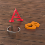 3D Buchstaben: CNC gefräste Werbemittel
