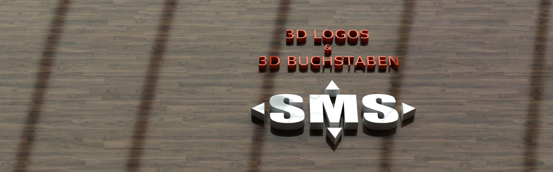 Herstellung von 3D Buchstaben und 3D Logos für Ihre Werbung