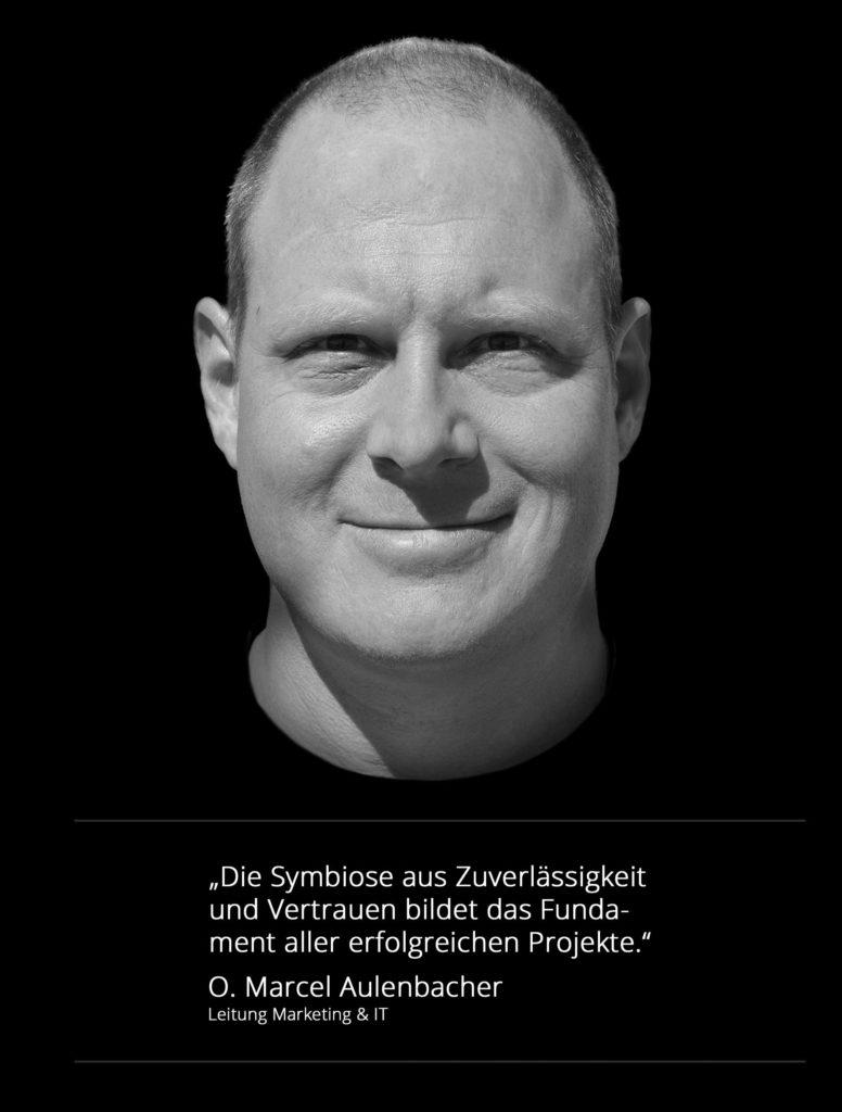 O. Marcel Aulenbacher Leitung Marketing und IT SMS Werbetechnik