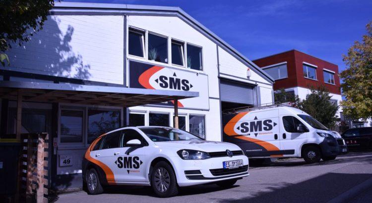 SMS Werbetechnik Stuttgart Unternehmen Außenansicht