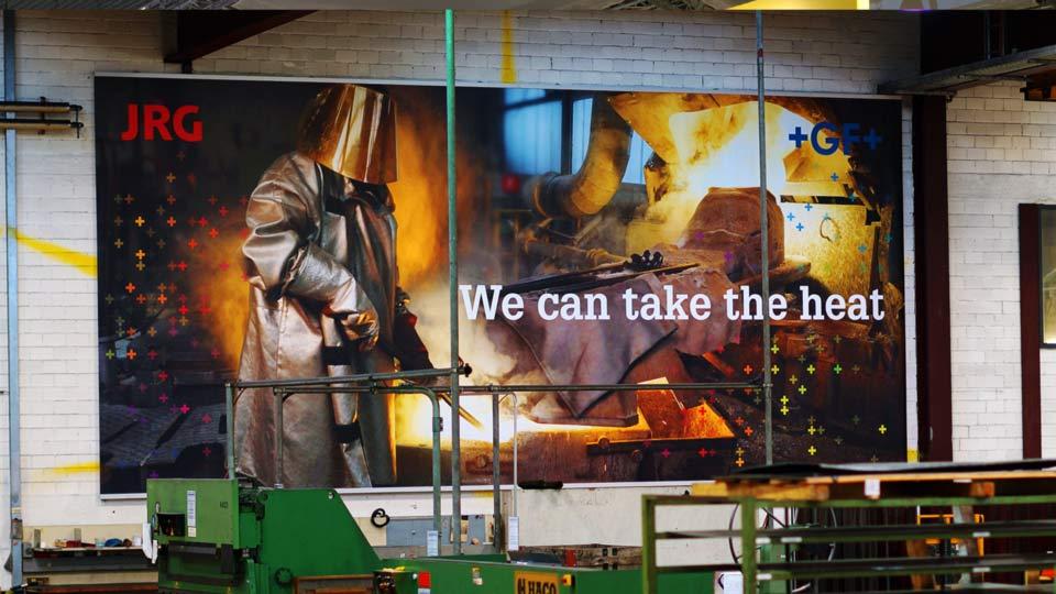 Bannerdruck: Werbebanner drucken, Digitaldruck