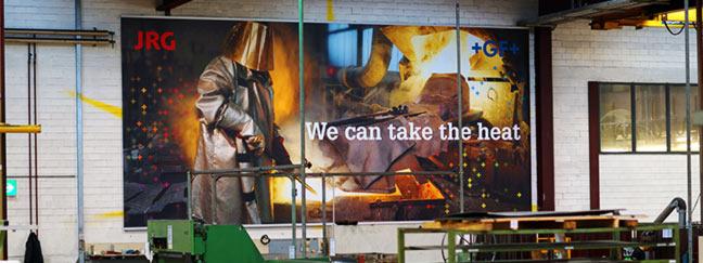 Bannerdruck: Großdimensionierte und hochwertige Werbebanner digital drucken