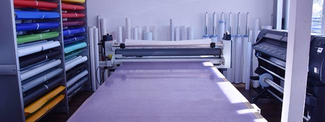 Digitaldruck: Werbebanner und Klebefolien