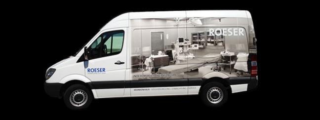 Fahrzeugbeschriftung: Beschriftung von Fahrzeugen mit geschnittenen und bedruckten Klebefolien