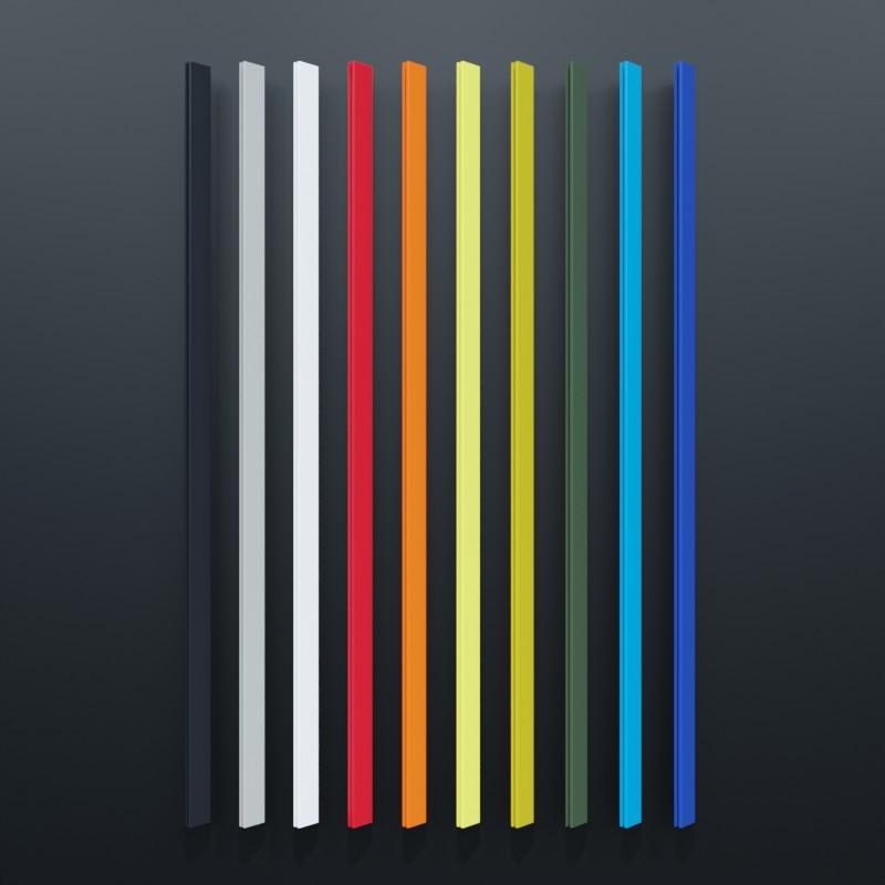 Kederrahmen für großformartige Fassadenwerbung mit RAL Farbauswahl