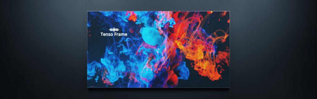 Tenso Frame: Fassadenbefestigung für Werbebanner