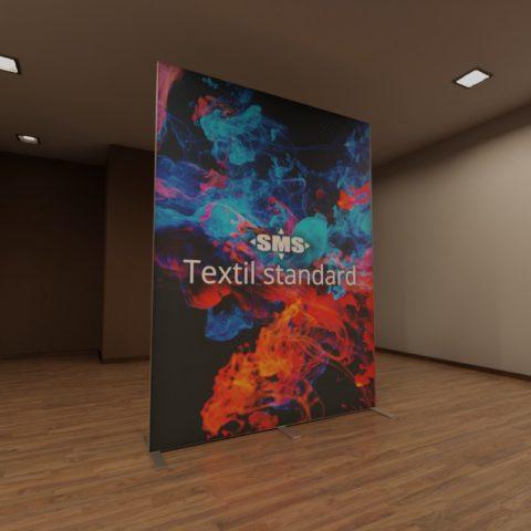 Textil standard, hier der Textildruck mit Umgebungslicht
