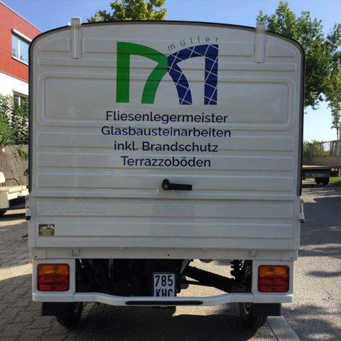 Fahezugbeschriftung und Beklebung Filderstadt, Foto 3