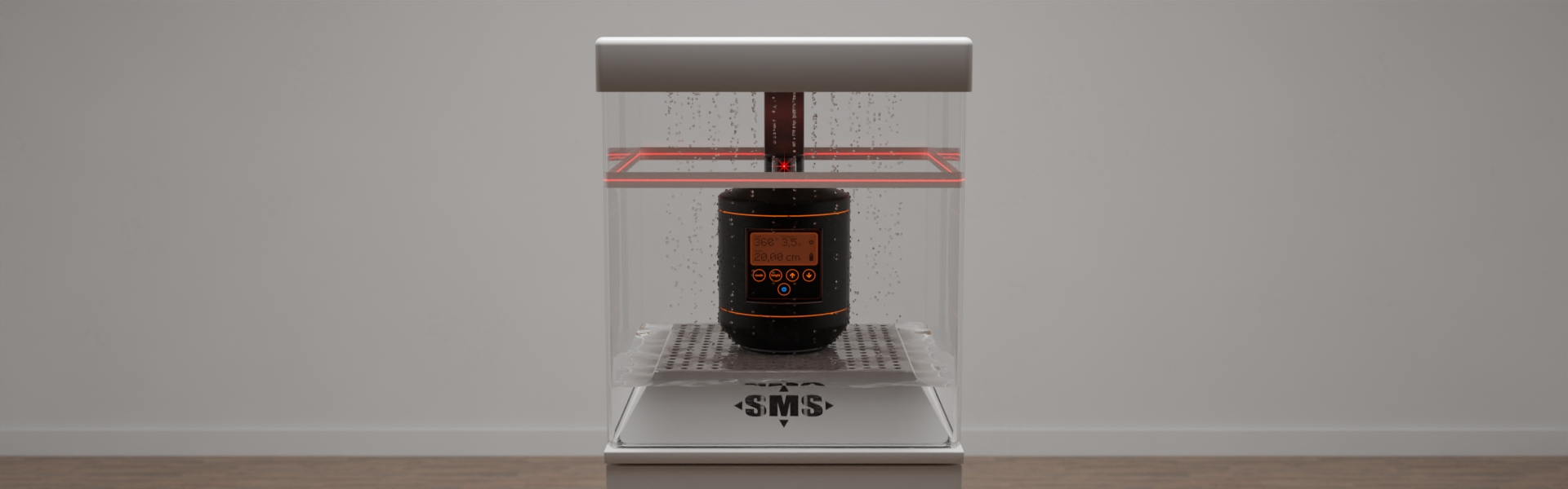Sonderanfertigung eines funktionellen Displays für ein Laser-Meßgerät, Bild 1