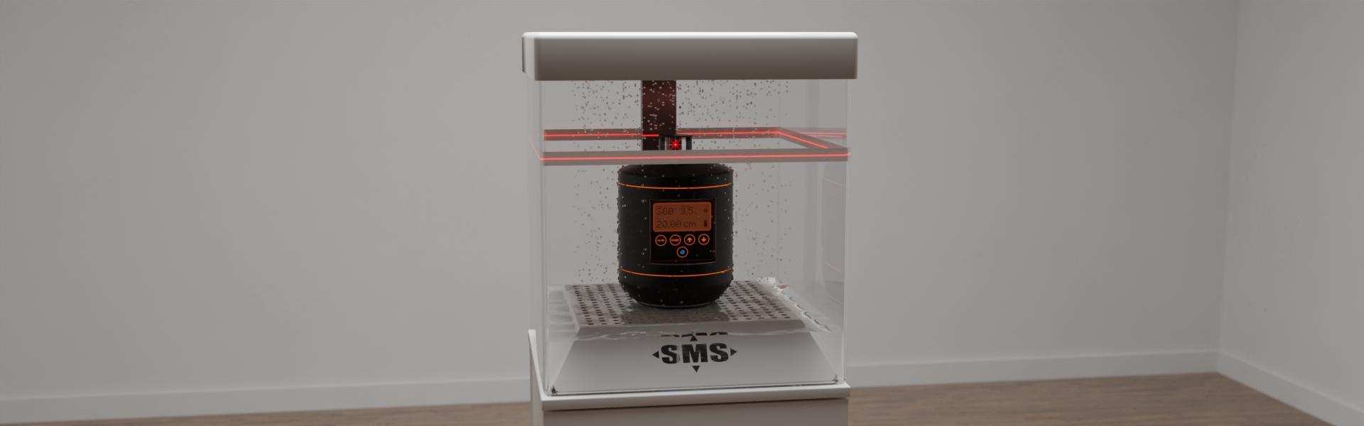 Sonderanfertigung eines funktionellen Displays für ein Laser-Meßgerät, Bild 2