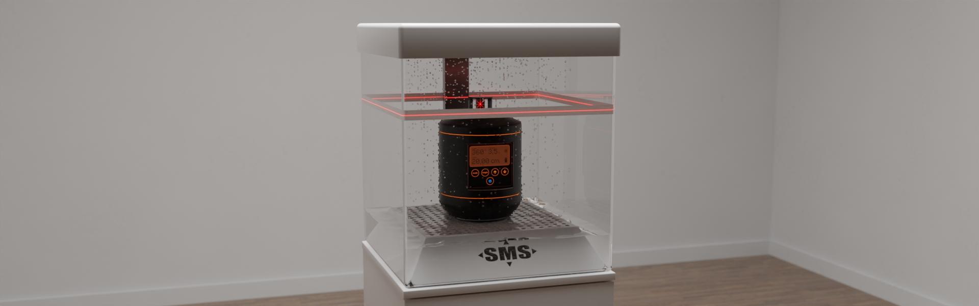 Sonderanfertigung eines funktionellen Displays für ein Laser-Meßgerät, Bild 3