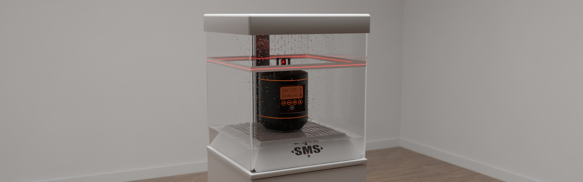 Sonderanfertigung eines funktionellen Displays für ein Laser-Meßgerät, Bild 4