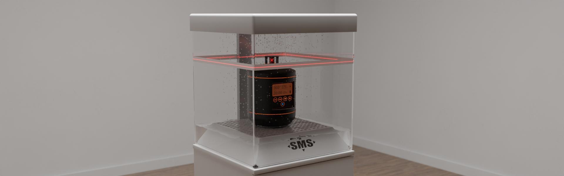 Sonderanfertigung eines funktionellen Displays für ein Laser-Meßgerät, Bild 5