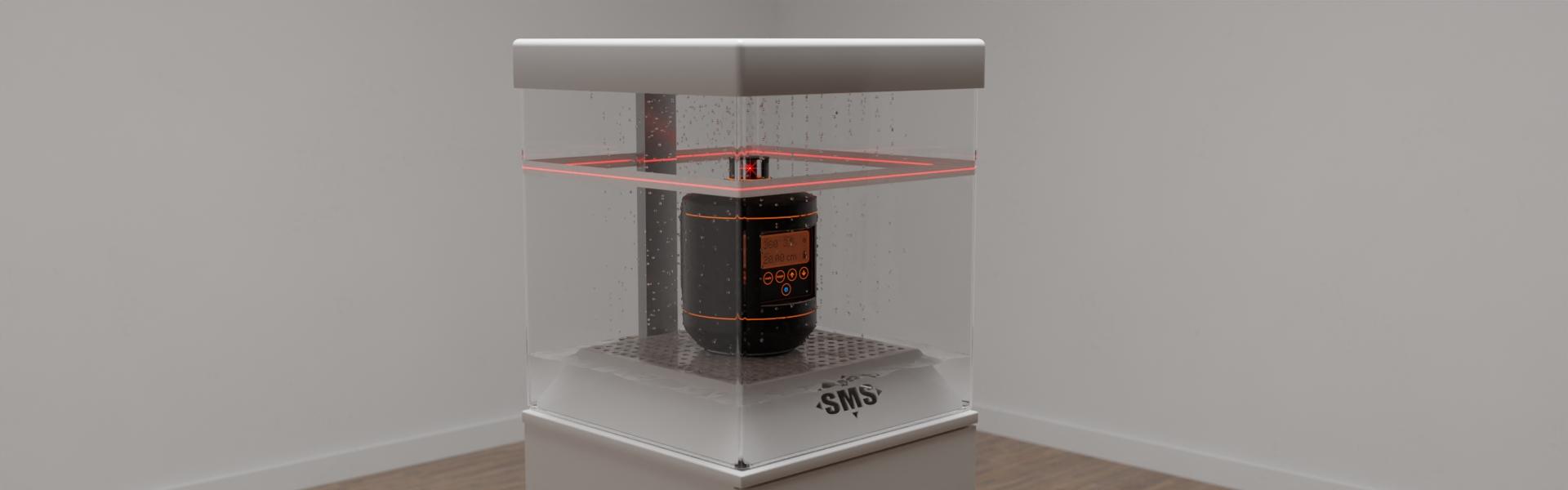 Sonderanfertigung eines funktionellen Displays für ein Laser-Meßgerät, Bild 6