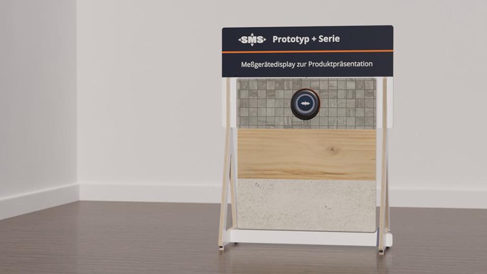 Sonderanfertigung und Serienproduktion eines tragbaren Displays zu Demonstrationszwecken