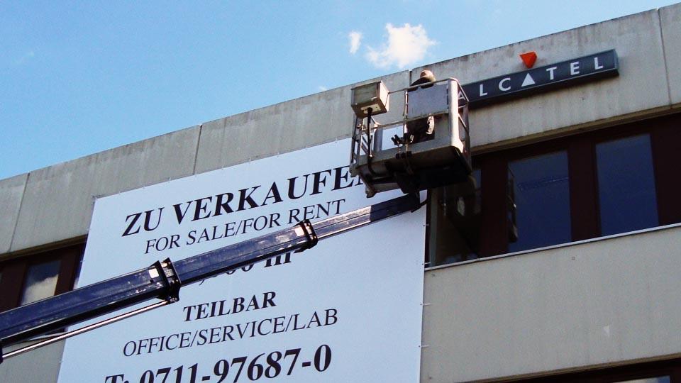 Stellenangebot Monteur*in im Bereich Werbetechnik / Werbemontagen im Raum Stuttgart