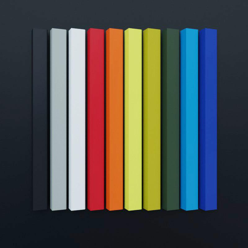 Pulverbeschichtung mit RAL-Farbschema verfügbar.