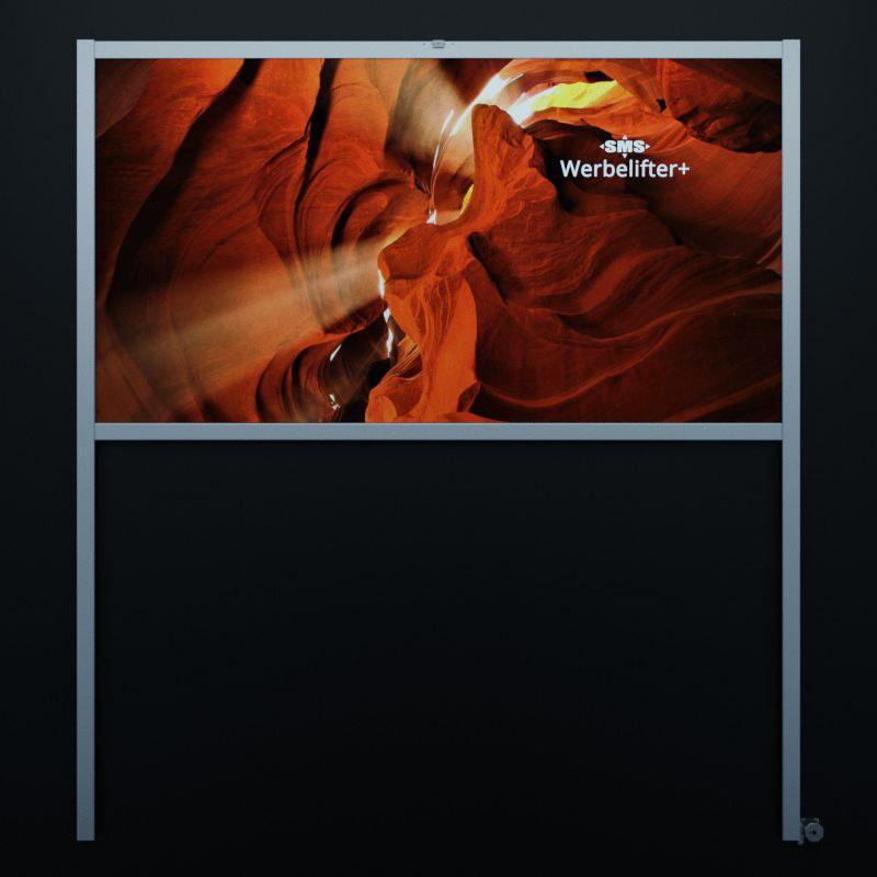 Werbelifter+: Bild mit Profilverlängerungen