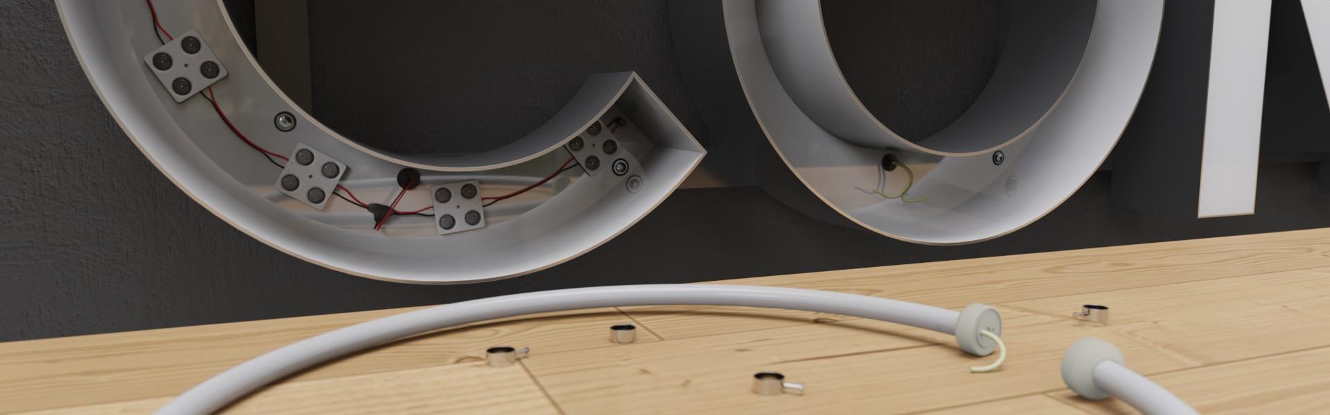 Modernisierung und Umrüstung von Werbeanlagen mit LED-Technik für Ihre Lichtwerbung