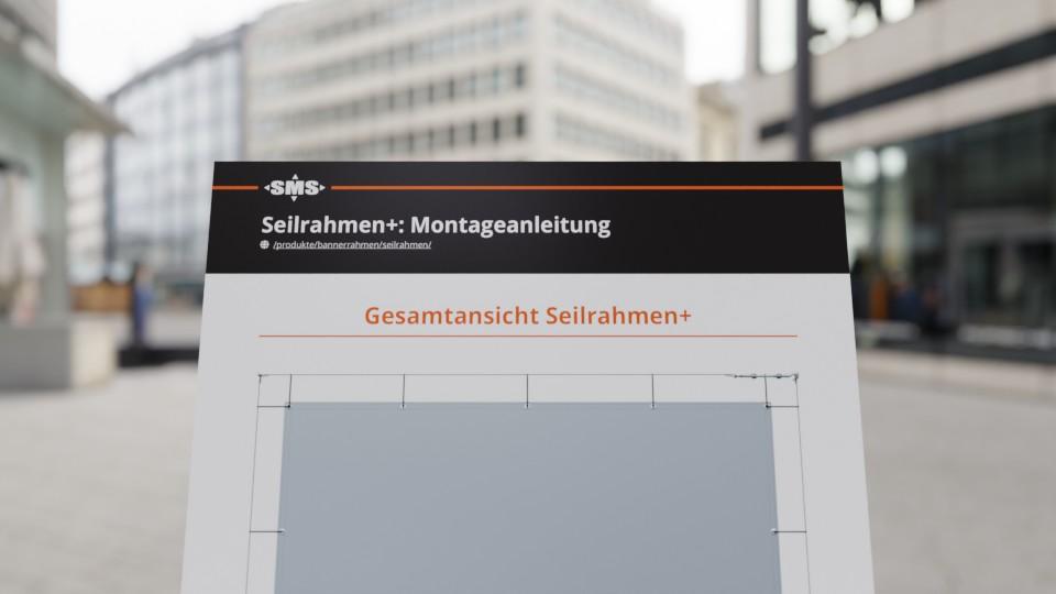 Montageanleitung Seilrahme+ jetzt auch im PDF Format zum Mitnehmen