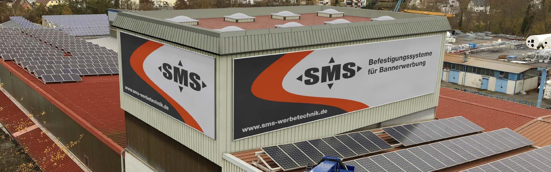 Banner Befestigungssysteme: Hochwertige Befestigung für Werbebanner an Fassaden